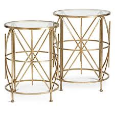z gallerie side table exeter tables set of 2 luxe living1 living room z gallerie side