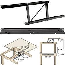 Coffee Lift Table Woodtek 164228 Hardware Table Folding Table
