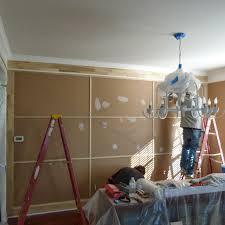 house envy reveal floor ceiling trim u0026 chandelier facelift