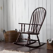 Espresso Rocking Chair Nursery Rocking Gliders Nursery Rockers Hayneedle