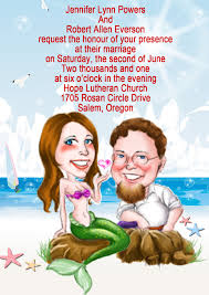 unique cartoon wedding invitations uk cheap unique invitation