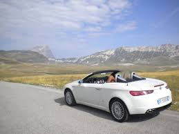 hire a in italy cimt alfa romeo spider convertible rental hire in rome italy