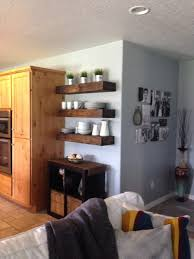 Floating Shelves In Dining Room Shanty  Chic - Floating shelves in dining room