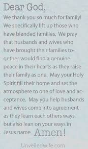 wedding quotes joining families prayer of the day for blended families raising lord and
