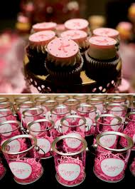 bar mitzvah party favors pink bat mitzvah favors dessert the celebration society