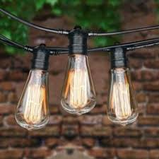 Edison Lights String by 10 8 Feet Globe Lights String Lights Cafe String Lights Outdoor