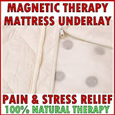 magnetic therapy single bed mattress topper 188x91cm with 1200