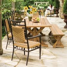 Outdoor Dining Set With Bench Patio Dining Sets Usa Outdoor Furniture