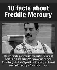 Freddie Mercury Meme - facts about freddie mercury others
