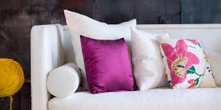 Throw Pillows  Tips To Style Your Sofa HuffPost - Decorative pillows living room