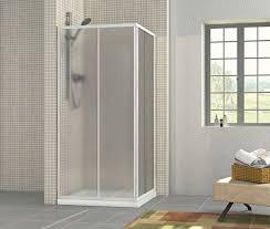 boxs doccia box doccia in acrilico 2 lati apertura scorrevole opaco