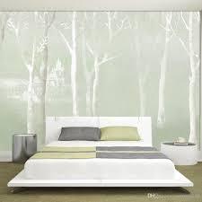 Wallpaper For Living Room Advanced 3d Fashion Hand Painted Modern Minimalist Nordic Elegant