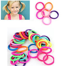 hair bobbles gemini mall pack of 50 girl s hair bobbles bands mini baby