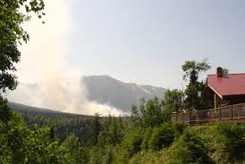 Card Wildfire Alaska by Fires Near Cooper Landing Grow Reinforcements Slow To Arrive