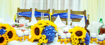 sunflower wedding decorations 18 sunflower wedding decor ideas wedding forward