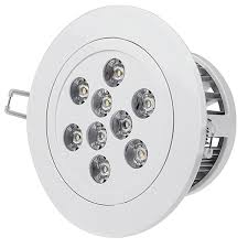 Led Recessed Lighting Fixtures 9 Watt Led Recessed Light Fixture Aimable And Dimmable Rlfad