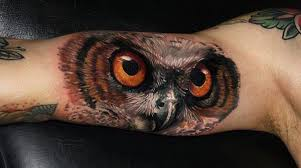 tato keren 3d 55 awesome owl tattoos art and design