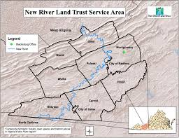 Floyd Va Map Service Area Map U2013 New River Land Trust
