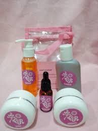 Pemutih Cr paket cr pink krim pemutih wajah asli bpom aman tanpa efek