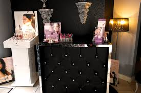 decadent black home cocktail bar home bar with diamante uk