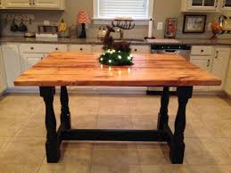 Kitchen Island With Legs Buy A Hand Crafted Harvest Style Kitchen Island Made From
