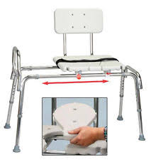 Toilet To Tub Sliding Transfer Bench Sliding Transfer Bench Bathroom Safety Ebay