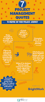 inspirational quote journey infographic 7 inspirational quotes to help you on your project