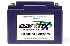 earthx inc lithium replacement batteries for atv motorcycles
