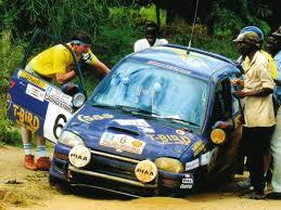 subaru fest kenya 1993 colin mcrae on his subaru vivio at the 1993 safari