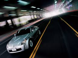 Nissan 350z Silver - nissan 350z diamond silver angle speed 1024x768 wallpaper
