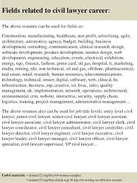 Sample Resume Lawyer by Top 8 Civil Lawyer Resume Samples