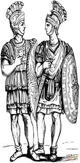 roman soldiers coloring page free printable coloring pages