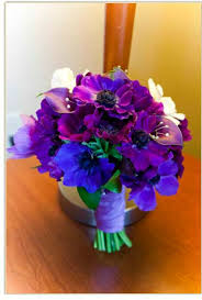 purple and blue wedding brides lavender blue and white bouquets wedding photos lavender