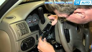 how to install replace turn signal wiper switch 2002 05 ford