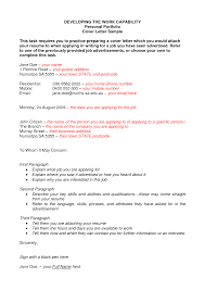 writing portfolio cover letter 2 pages integrating evidence