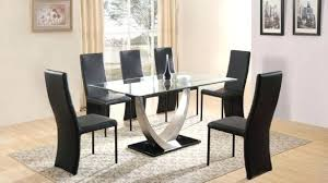 Dining Table And 6 Chairs Cheap Extendable Glass Dining Table And 6 Chairs