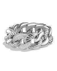link bracelet with diamonds images David yurman belmont curb link bracelet with diamonds 25mm jpg