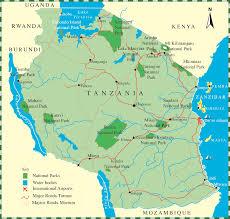 Lake Victoria Map Highlights Of Kenya Safari U0026 Victoria Falls African Safaris