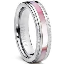 womens titanium wedding bands titanium wedding rings for less overstock