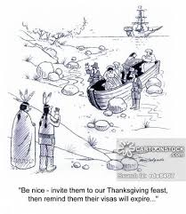 Pilgrim Thanksgiving History Pilgrims Cartoons And Comics Funny Pictures From Cartoonstock