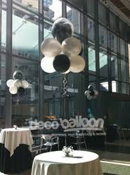 black and white centerpieces balloon centerpieces my deco balloon