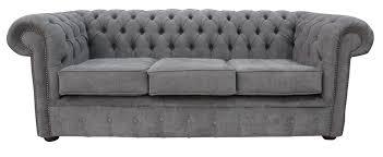 chesterfield sofa bed uk designersofas4u buy pewter fabric chesterfield sofa uk