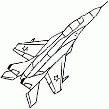 aeroplane colouring pages coloring