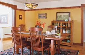 arts and crafts style homes interior design inspirational craftsman style dining room furniture 22 on home