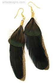 feather earings feather earrings peacock feathers feather earrings