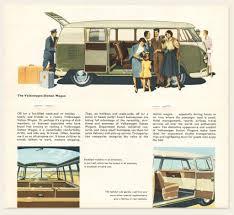 volkswagen bus interior 1958 59 volkswagen bus brochure u2013 oldcuts