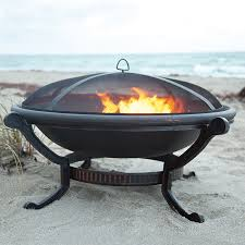 Buy Firepit Ashland Cast Iron Pit At Brookstone Buy Now