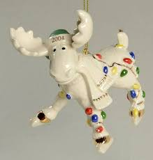 lenox annual moose ornaments at replacements ltd