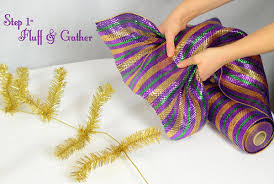 mardi gras ribbon party ideas by mardi gras outlet mardi gras garland tutorial