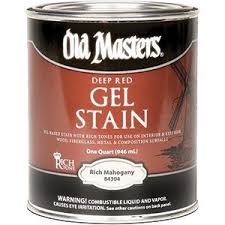 Gel Stain Banister Old 158800 84304 Gel Stain Rich Mahogany Oil Based Household